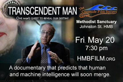 Coastside Film Society screens Film about the ideas of Ray Kurzweil
