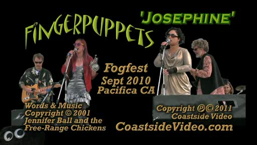 Fingerpuppets 'Josephine' Fogfest 2010 music video title page