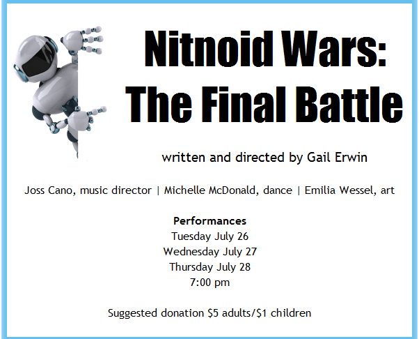 The Final Battle plays at Coastal Rep, July 26-28